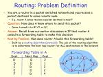 routing problem definition