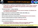 nesdis star challenges