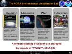 the noaa environmental visualization lab