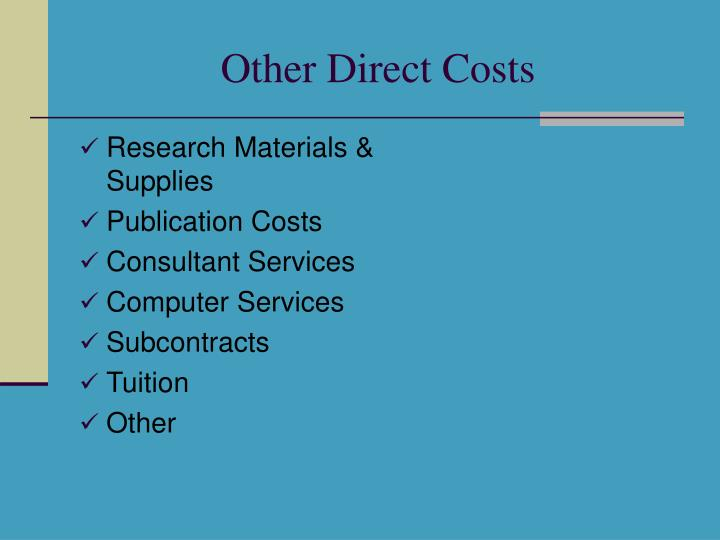 Research Materials & Supplies