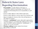 federal states laws regarding discrimination15