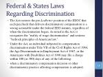 federal states laws regarding discrimination17