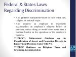 federal states laws regarding discrimination2