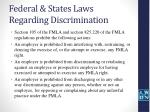 federal states laws regarding discrimination25