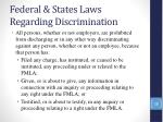 federal states laws regarding discrimination26