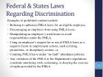 federal states laws regarding discrimination27