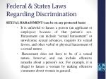 federal states laws regarding discrimination35