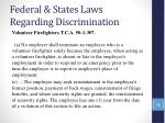 federal states laws regarding discrimination54