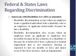 federal states laws regarding discrimination6