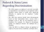 federal states laws regarding discrimination7