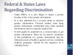 federal states laws regarding discrimination9