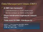 data management views dmv