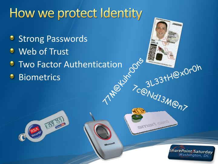 How we protect Identity