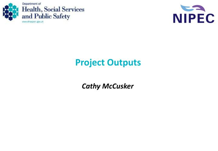 project outputs n.