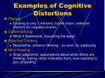 examples of cognitive distortions