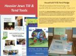 hoosier jews till tend tools