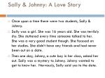 sally johnny a love story