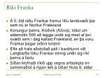 r ki franka