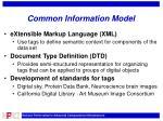 common information model