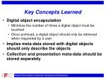 key concepts learned1
