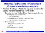 national partnership for advanced computational infrastructure1