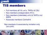 tis members
