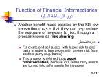 function of financial intermediaries3