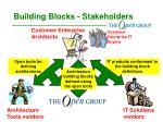building blocks stakeholders