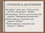 citations quotations