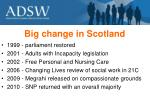big change in scotland