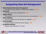integrating data set management