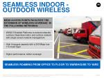 seamless indoor outdoor wireless