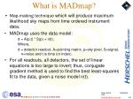 what is madmap