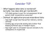 consider tcp