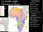 la rivalit anglo francese in africa