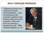 billy graham ensinava