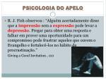 psicologia do apelo