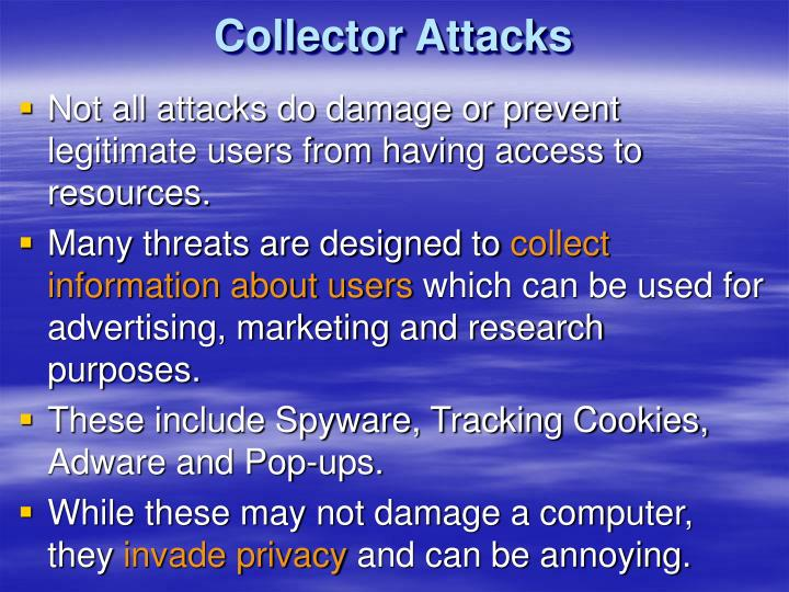 Collector Attacks