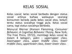 kelas sosial