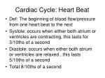 cardiac cycle heart beat