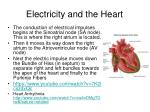electricity and the heart