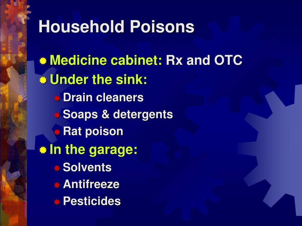 PPT - HOUSEHOLD HAZARDS PowerPoint Presentation - ID:3928708