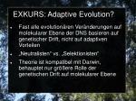 exkurs adaptive evolution3