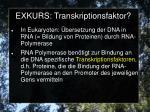 exkurs transkriptionsfaktor1