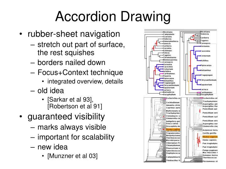 Accordion Drawing