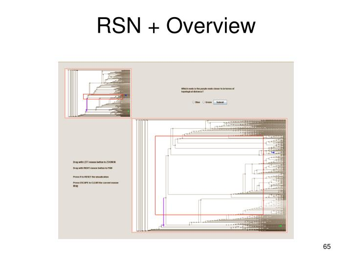 RSN + Overview