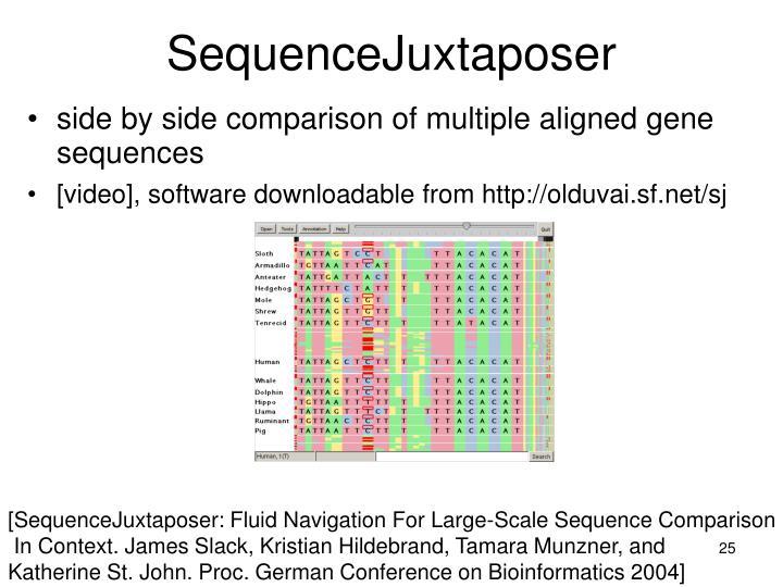 SequenceJuxtaposer