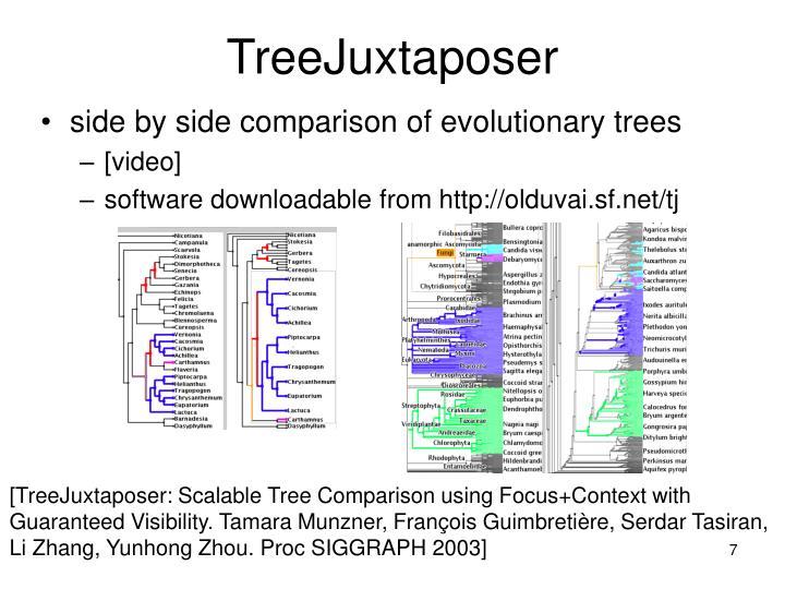 TreeJuxtaposer