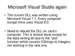 microsoft visual studio again