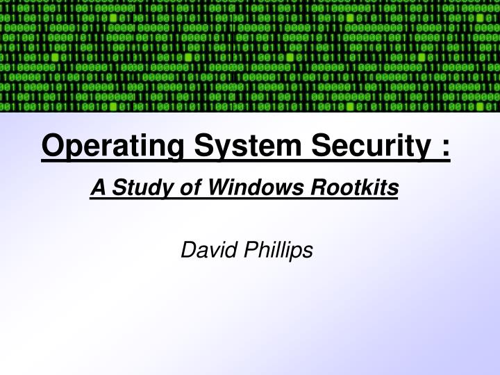 operating system security n.